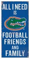 "Florida Gators 6"" x 12"" Friends & Family Sign"