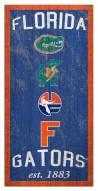 "Florida Gators 6"" x 12"" Heritage Sign"