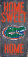 "Florida Gators 6"" x 12"" Home Sweet Home Sign"