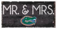 "Florida Gators 6"" x 12"" Mr. & Mrs. Sign"
