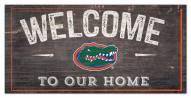 "Florida Gators 6"" x 12"" Welcome Sign"