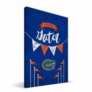 "Florida Gators 8"" x 12"" Little Man Canvas Print"
