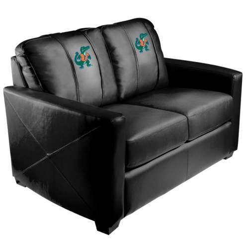 Florida Gators XZipit Silver Loveseat