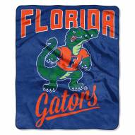 Florida Gators Alumni Raschel Throw Blanket