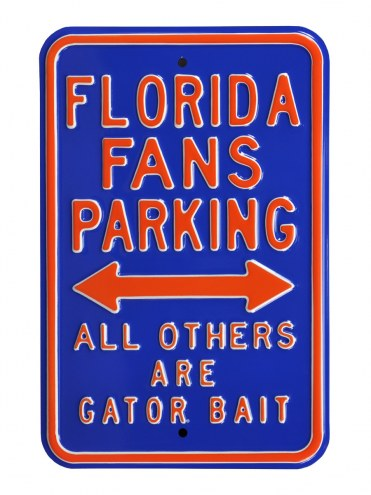 Florida Gators Bait Parking Sign