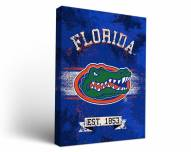 Florida Gators Banner Canvas Wall Art