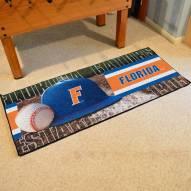 Florida Gators Baseball Runner Rug