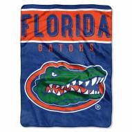 Florida Gators Basic Plush Raschel Blanket