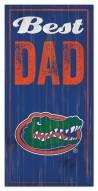 Florida Gators Best Dad Sign