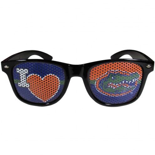 Florida Gators Black I Heart Game Day Shades