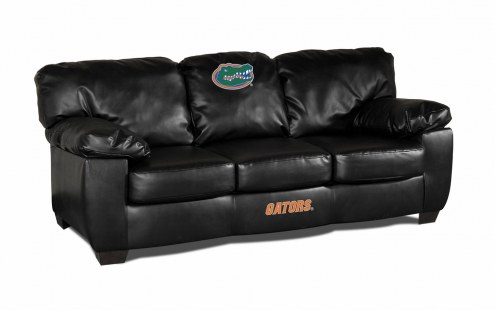 Florida Gators Black Leather Classic Sofa