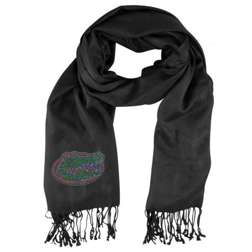 Florida Gators Black Pashi Fan Scarf