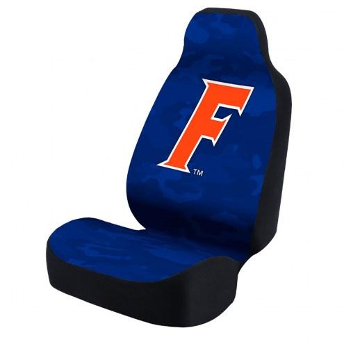 Florida Gators Blue Camo Universal Bucket Car Seat Cover