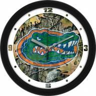 Florida Gators Camo Wall Clock