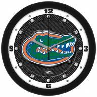 Florida Gators Carbon Fiber Wall Clock