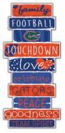 Florida Gators Celebrations Stack Sign