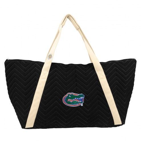 Florida Gators Chevron Stitch Weekender Bag