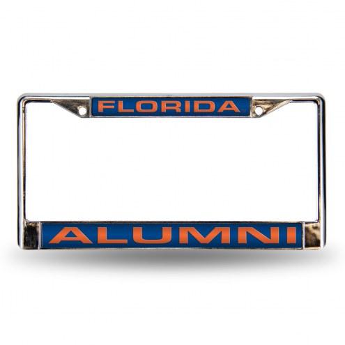 Florida Gators Chrome Alumni License Plate Frame