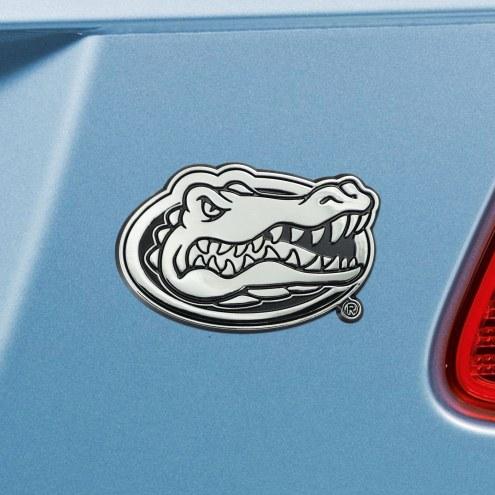 Florida Gators Chrome Metal Car Emblem