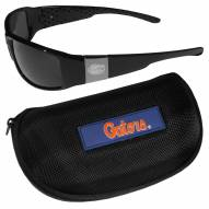 Florida Gators Chrome Wrap Sunglasses & Zippered Carrying Case