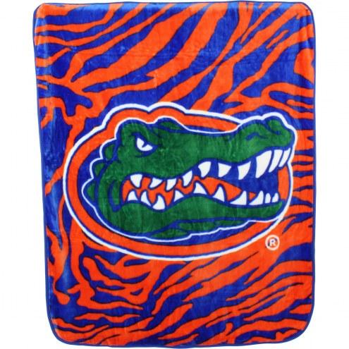 Florida Gators Raschel Throw Blanket
