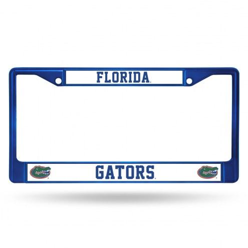 Florida Gators Color Metal License Plate Frame