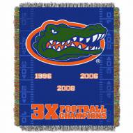 Florida Gators Commemorative Champs Throw Blanket