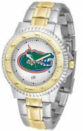 Florida Gators Competitor Two-Tone Men's Watch