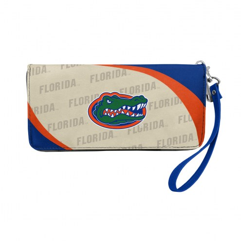 Florida Gators Curve Zip Organizer Wallet