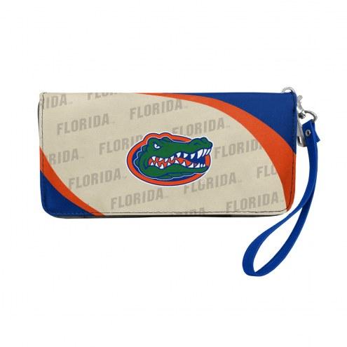 Florida Gators Curve Zip Organizer Wallet
