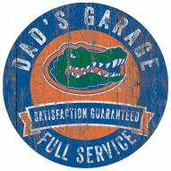 Florida Gators Dad's Garage Sign