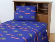 Florida Gators Dark Bed Sheets