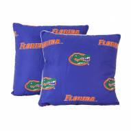 Florida Gators Outdoor Decorative Pillow Set