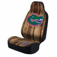 Florida Gators Distressed Wood Universal Bucket Car Seat Cover