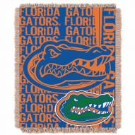 Florida Gators Double Play Woven Throw Blanket