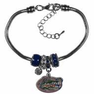 Florida Gators Euro Bead Bracelet