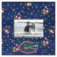 "Florida Gators Floral 10"" x 10"" Picture Frame"