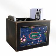 Florida Gators Floral Desktop Organizer