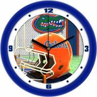 Florida Gators Football Helmet Wall Clock
