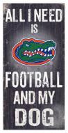 Florida Gators Football & My Dog Sign