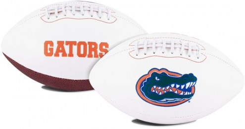 Florida Gators Full Size Embroidered Signature Series Football