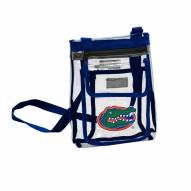 Florida Gators Gameday Clear Crossbody Tote