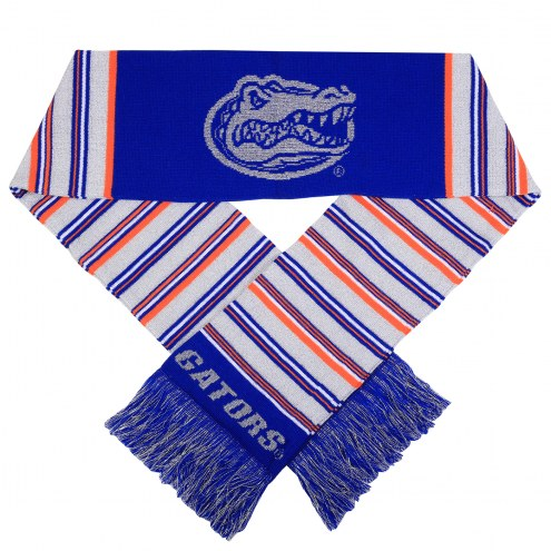 Florida Gators Glitter Stripe Scarf