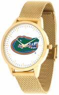 Florida Gators Gold Mesh Statement Watch
