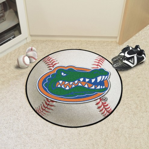 "Florida Gators ""Head"" Baseball Rug"