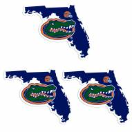 Florida Gators Home State Decal - 3 Pack