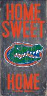 Florida Gators Home Sweet Home Wood Sign