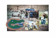 Florida Gators I Love My Family Clip Frame