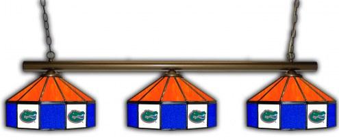 Florida Gators 3 Shade Pool Table Light