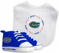 Florida Gators Infant Bib & Shoes Gift Set